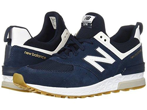 [new balance(ニューバランス)] メンズランニングシューズ?スニーカー?靴 MS574v1 Vintage Indigo/White 9 (27cm) D - Medium