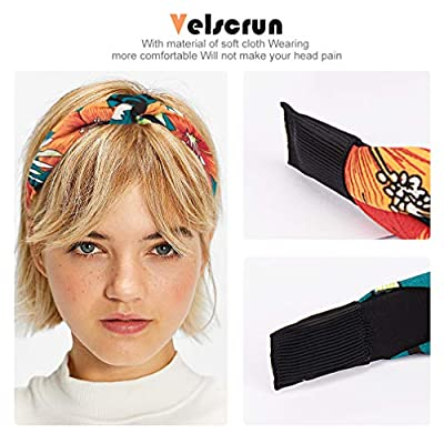 Velscrun Hair Scrunchies Velvet Rabbit Bunny Ear Scrunchy