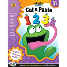 Cut & Paste 123s Workbook, Grades Preschool - K