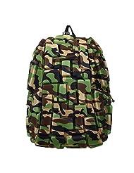 MadPax Rock Blok Fullpack Backpack Bag (Camo Undercover)