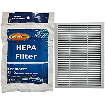 Amazon Com Envirocare Hepa Filter To Fit Sears Kenmore