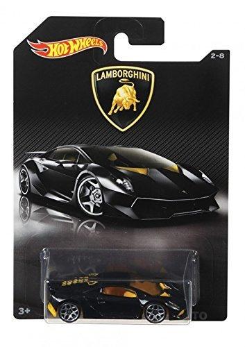 Buy Hot Wheels Lamborghini Sesto Elemento Glossy Black With Yellow