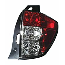 Depo 320-1912R-US Subaru Forester Passenger Side Tail Lamp Lens and Housing