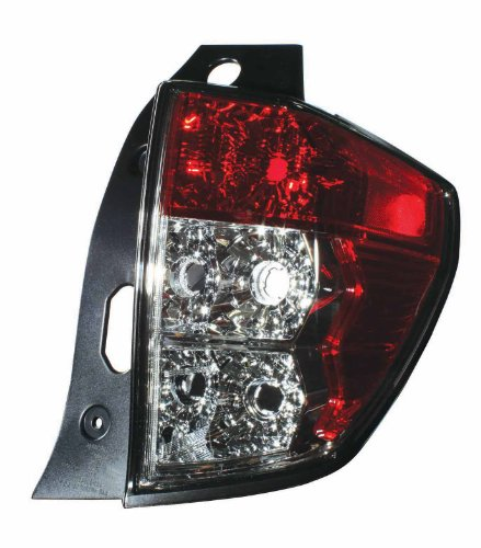 Depo 320-1912R-US Subaru Forester Passenger Side Tail Lamp Lens and Housing (Lamp Forester Subaru Tail)
