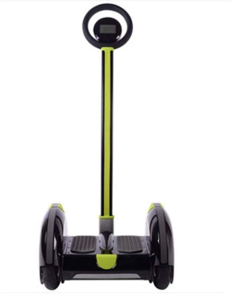 HIGHKAS Balanceador eléctrico, para Adultos y niños Scooter para niños autobalanceable somatosensorial Desmontable portátil para niños, Negro