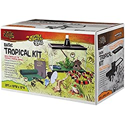 Zilla Tropical Reptile Starter Kit 10 with Light and Heat
