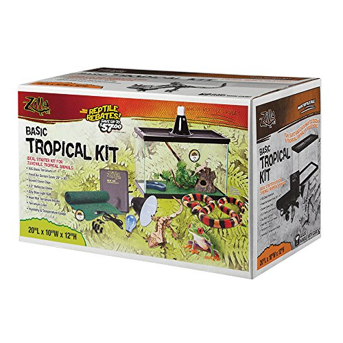Zilla Tropical Reptile Starter Light