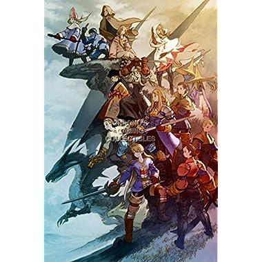 CGC Huge Poster - Final Fantasy Tactics PS1 PS2 PSP Vita Nintendo DS GBA - FTA009 (24  x 36  (61cm x 91.5cm))