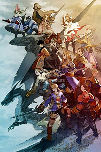 Final Fantasy CGC Huge Poster Tactics PS1 PS2 PSP Vita Nintendo DS GBA - FTA009 (24