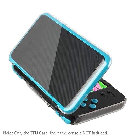 JUNERAIN - Carcasa Blanda de TPU para Nintendo 2DS XL LL ...