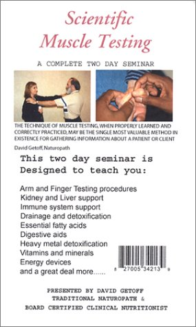 Price comparison product image Scientific Muscle Testing for Health Professionals [VHS]