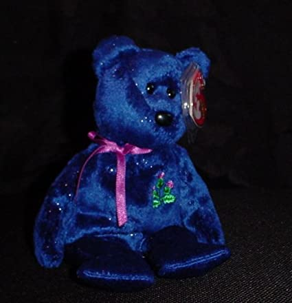Bear Ty Beanie Babies Sparks UK Exclusive