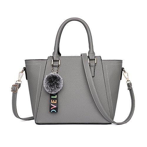 Elegant Shoulder Darkpurple Creative Gray Bag Female Bag Wenl Bag Messenger wtgqzx5