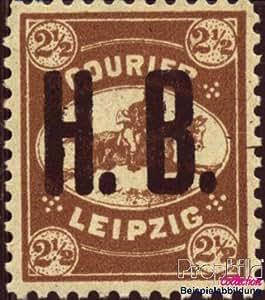 sellos para coleccionistas: Leipzig (privado) e2 con charnela 1893 correo h.B.