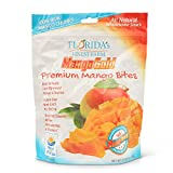 USA Grown in Florida, Additive-Free Mango Snacks, Healthy, Allergy Friendly Dried Fruit Snacks, Vegan & Paleo Friendly – Mango Gold (Lightly Sugared, Family Size Bag 20oz) For Sale