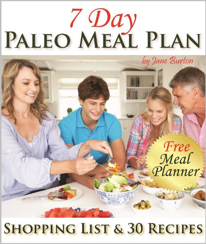 Paleo Meal Plan Complete Shopping ebook product image