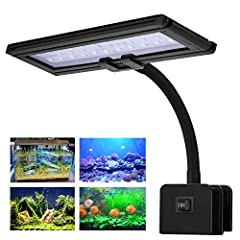 For lighting up a tank, artistic display, or plant, use the convenient and efficient VIVOSUN LED Light Panel. This LED panel is easy to set up with a screw-tight design, and includes a flexible head so you can turn it any direction you need. ...