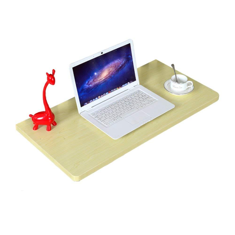 orden en línea 100×40cm ZHAS Mesa Mesa Mesa de Comedor Plegable Escritorio de computadora montado en la Parojo Estación de Trabajo de Estudio para niños Organizador Multiuso, Cocina, Sala de EEstrella, Color de Arce blancoo (Tamaño  10  marca famosa