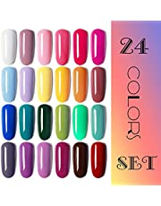 Vishine Nail Gel Polish 6 Colors Set 8ml Gift Set