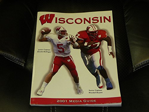 2001 Wisconsin Football - 2001 WISCONSIN COLLEGE FOOTBALL MEDIA GUIDE EX BOX 12