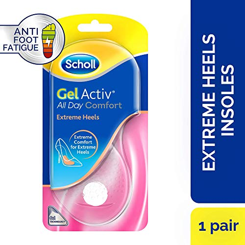 Scholl Gel Activ Extreme Heels Insoles, 1 Pair