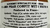 William Pear and White wine French Imported confit for cheeses 4.4 oz jar by lEpicurien France