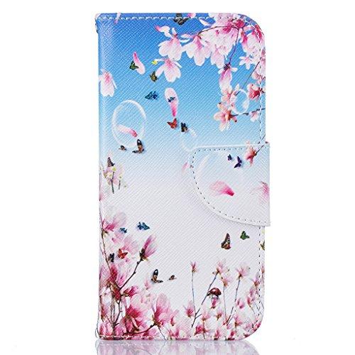 Trumpshop Smartphone Carcasa Funda Protección para Apple iPhone 6 Plus / iPhone 6s Plus (5.5-Pulgada) + Familia del búho + PU Cuero Caja Protector Billetera con Cierre magnético Jardín secreto