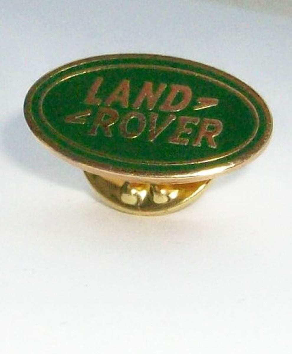 Land rover enamel lapel pin badge
