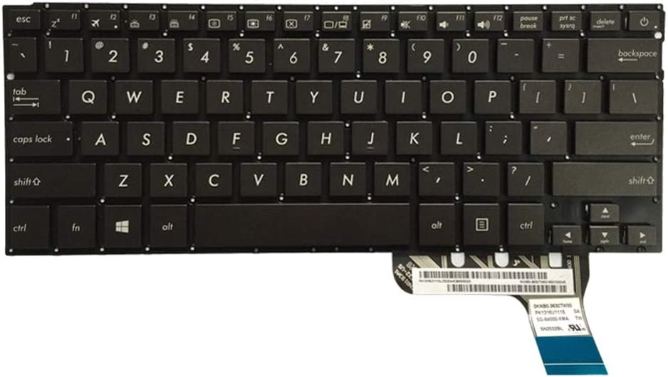 Arbic Layout Backlight Laptop Replacement Keyboard Fit Asus U303 U303LB U303LN U303UA U303UB UX303L UX303 U303L UX303LN