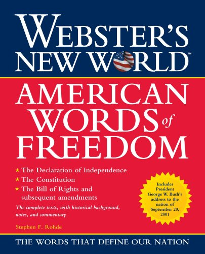 Websters New World American Words of Freedom