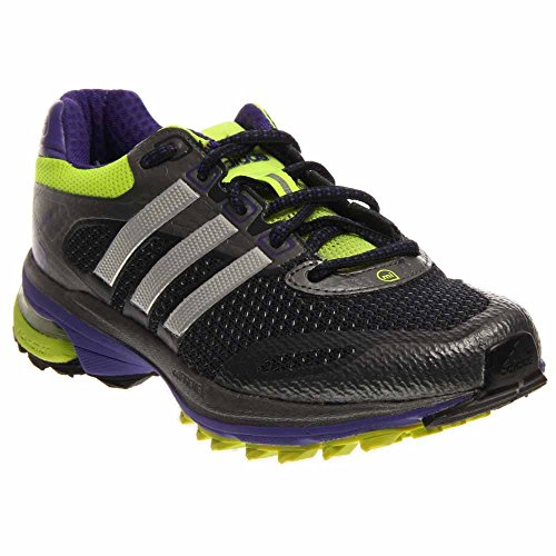 Adidas Supernova Glide 5 Womens ATR Running Shoes Night Shade/Metalsilver/Electricity 7g37Idh