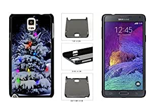 Colorful Winter Christmas Tree Plastic Phone Case Back For Case Samsung Galaxy S5 Cover