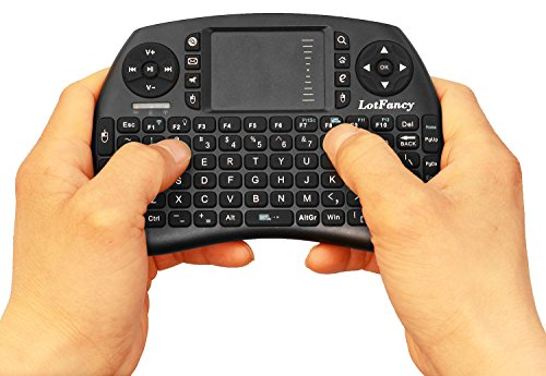 LotFancy Wireless Keyboard Touchpad Rechargeable