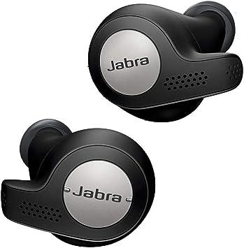 Oferta amazon: Jabra Elite Active 65t – Auriculares Deportivos Bluetooth 5.0, con Cancelación Pasiva de Ruido y Sensor de Movimiento, Auténticas Llamadas Inalámbricas y Música, Negro Titanio