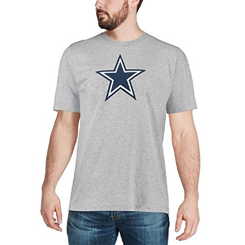 Dallas Cowboys Tee Shirts (Dallas Cowboys Logo Premier T-Shirt Grey XL)
