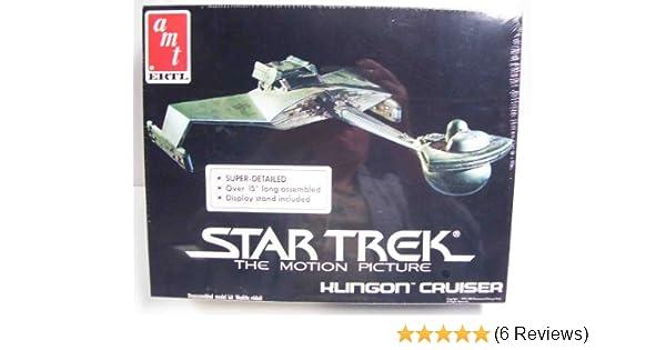 Amazon.com: Star Trek The Motion Picture Klingon Cruiser Model Kit by AMT Ertl: Toys & Games