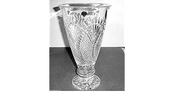 Amazon House Of Waterford Seahorse Large Footed Vase Crystal