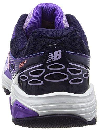 New Balance Kr680pvy M, Zapatillas Unisex Niños Morado (Purple)
