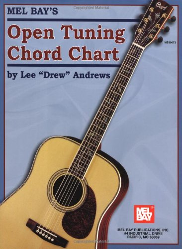 Open Tuning Chord Chart - Open Tuning Chord Book