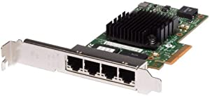 THGMP - NIC Intel i350-T4 4-Port PCI-E 2.1 x4 1GbE 4x RJ45 Full-Height PowerEdge R720XD