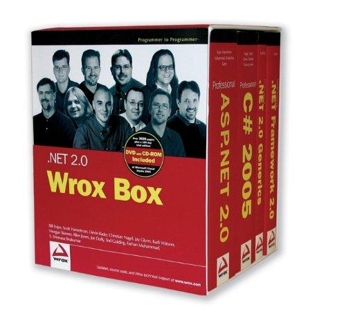 .NET 2.0 Wrox Box: Professional ASP.NET 2.0, Professional C# 2005, Professional .NET 2.0 Generics, and Professional .NET Framework 2.0 by Wrox