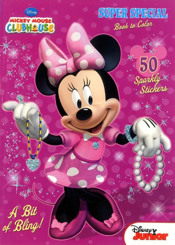 Mickey Mouse Clubhouse Super Special Book to (Minnie Mouse Coloring Book)