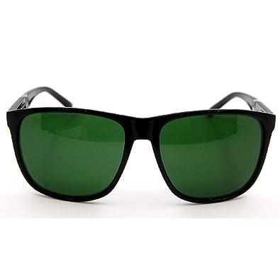 PUWENYCC Gafas de Sol Negras de Tendencia para Hombres y ...