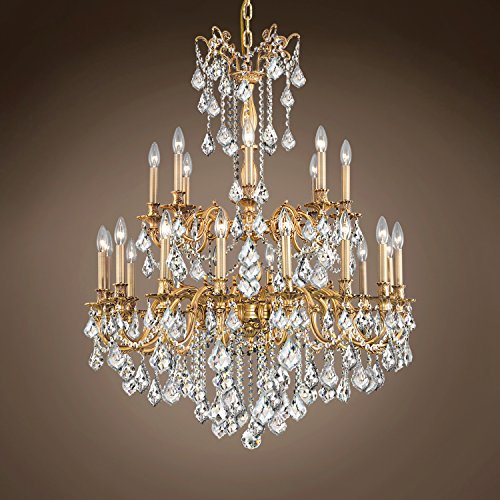 Joshua Marshal 701586-027 - Traditional Versailles 24 Light 36