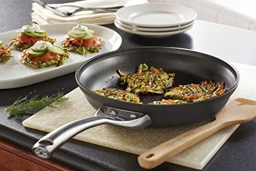 Calphalon Contemporary Hard-Anodized Aluminum Nonstick Cookware, Omelette Fry Pan, 10-inch, Black by Calphalon (Image #3)