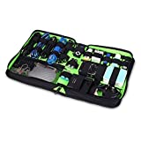 BUBM Universal Electronics Accessories Travel Organizer / Various USB, Phone, Charge,Hard Drive Case / Cable organizer / Flash Disk Organizer Bags - Large