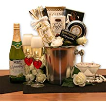 A Romantic Evening For Two Gift Basket