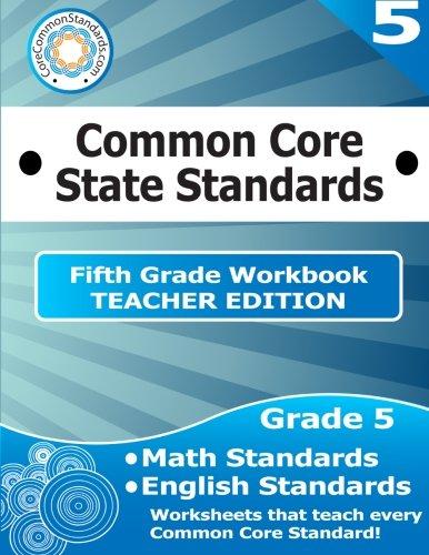 Fifth Grade Common Core Workbook - Teacher Edition