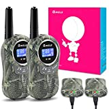 Qniglo Walkie Talkies Kids Adults 22 Channel Long Range 2 Way Radio Rechargeable