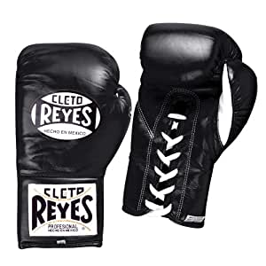 Cleto Reyes oficial Lace Up competencia guantes de boxeo